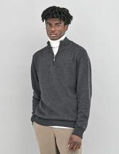 Wakhan 1/4 Zip Sustainable Sweater