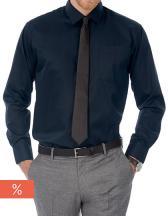 Twill Shirt Sharp Long Sleeve / Men