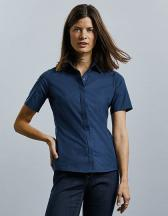 Ladies` Short Sleeve Fitted Ultimate Stretch Shirt
